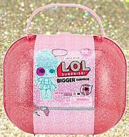 Кукла лол Мега-Сюрприз в чемоданчике сумочке 4 серия L.O.L Bigger Surprise