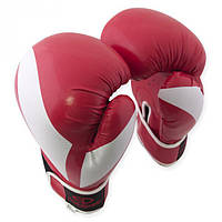 Перчатки боксерские Europaw PVC красные 12 oz