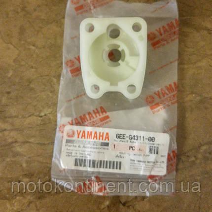 6EE-G4311-01/ 6BX-44311-00 Корпус водяного насоса Yamaha F4/F5/F6, фото 2