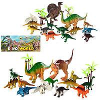 """Набір фігурок """"Динозаври"""" 330-83A, в кульку, 19-23-5 см."""