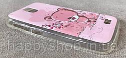 Силиконовый чехол-накладка для Lenovo A328 (Bear), фото 3