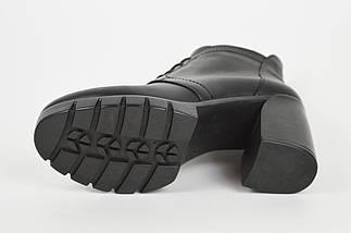 Ботинки кожаные на платформе с каблуком DaCoTa 408, фото 3