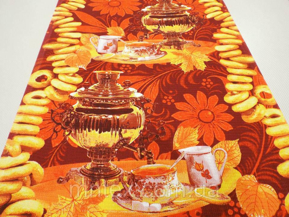 """Ткань вафельная ширина 50 см Осень / """"Чарівна Ніч"""""""