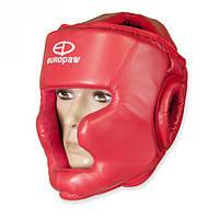 Шлем боксерский Europaw красный
