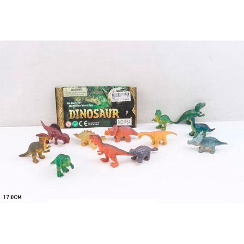 Набір фігурок Динозаври P64 в кульку, 16,5-24-4 см.