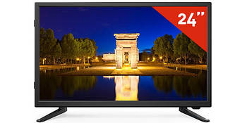 Телевизор TD Systems K24DLT7F (24 дюйма, Full HD, Dolby Digital Plus, HDMI, USB-рекордер)