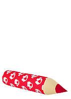Карандаш-подушка слоны на красном