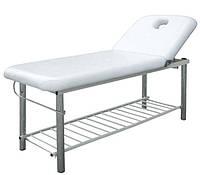 Массажный стол - Косметологическая кушетка механическая BS-219 с креплением для рулона простыней