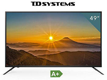 Телевизор TD Systems K49DLM8U (49 дюймов, Ultra HD, 4K, Dolby Digital Plus, HDMI, USB-рекордер)
