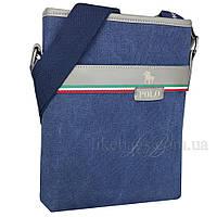 Сумка мужская Polo для документов синяя 54389