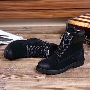 Стильные зимние ботинки фирмы UGG.Цвет черный