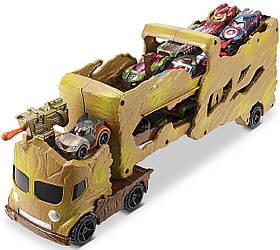Трейлер АвтовозГрут Стражи Галактики Hot Wheels Marvel Comics Groot Hauler Vehicle