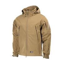 Куртка тактическая SOFT SHELL (M-TAC) бежевая, фото 1