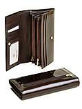 Женский кожаный кошелек BRETTON лаковый, фото 2