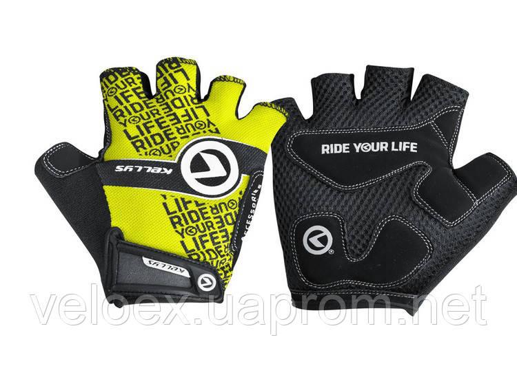 Перчатки KLS Comfort New лайм