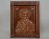 """Икона """"Господь Вседержитель"""" - резьба по дереву (160х200х18), фото 1"""