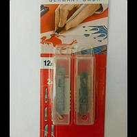 Лезвия для ножа-скальпеля 12 шт KWB