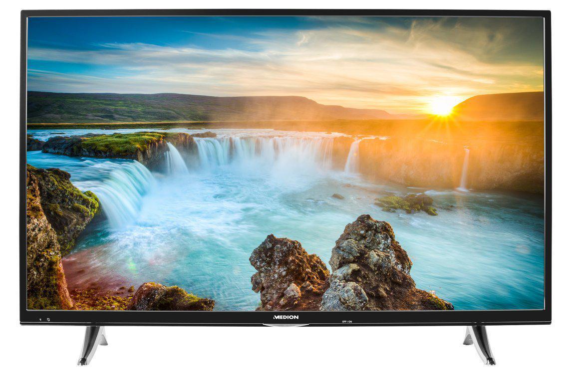 Телевизор Мedion X18103 (49 дюймов, Ultra HD, 4K, Smart TV, WLAN, Bluetooth)