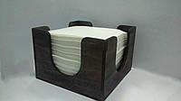 Салфетница деревянная 130Х130Х90мм Вилор 002376, фото 1