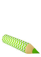 Карандаш-подушка зигзаг зеленый, фото 1
