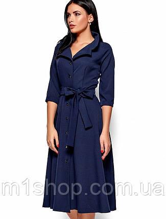 cef001319293a42 Женское расклешенное платье-рубашка (Монако kr) купить недорого ...