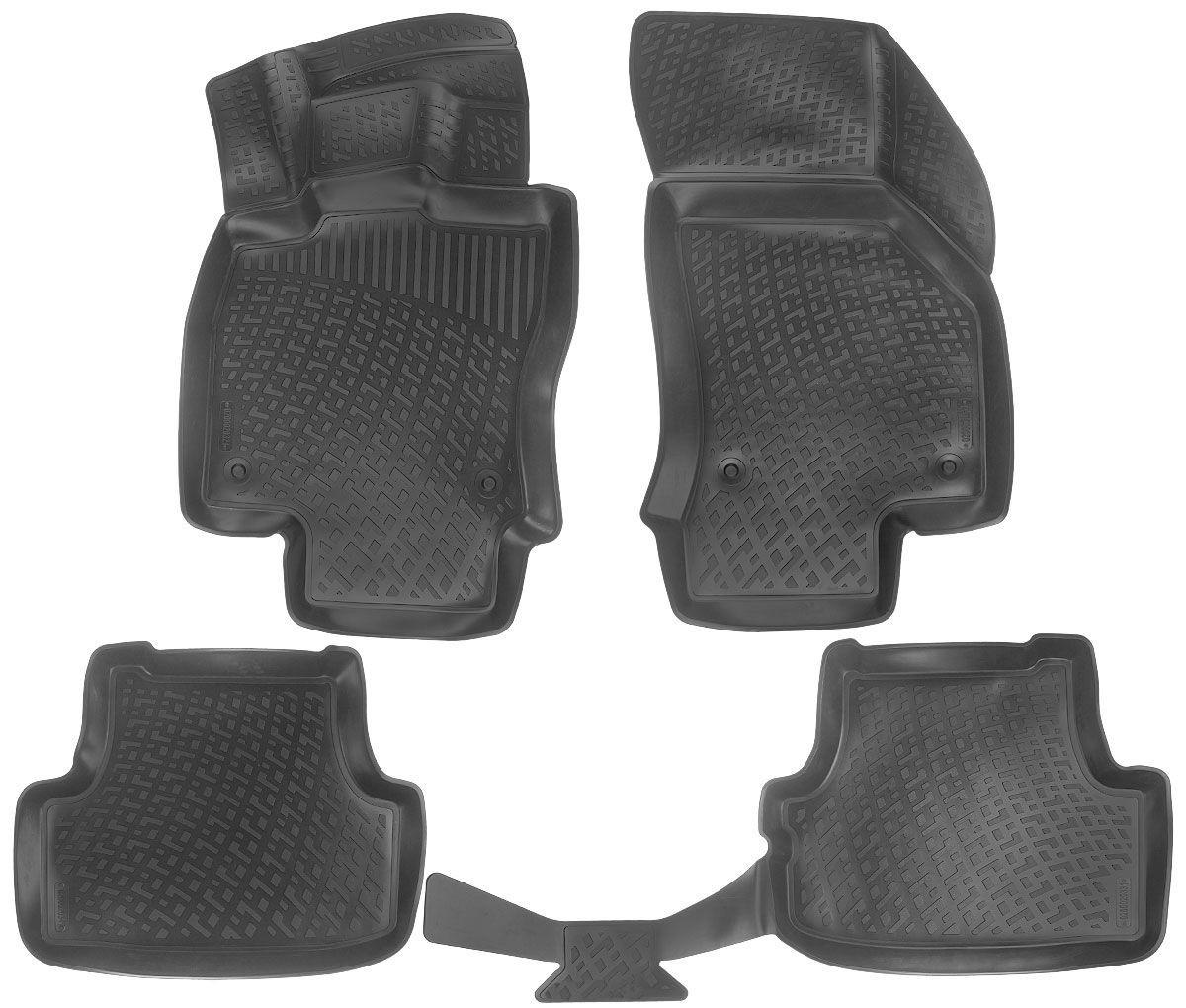 Коврики в салон для Audi A3 (8V) Sport Bac (12-) полиуретановые 200020301