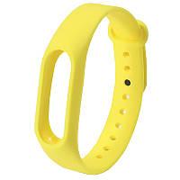 ☛Ремешок Uwatch M2 Желтый на руку для фитнес браслета Xiaomi с регулируемой длиной