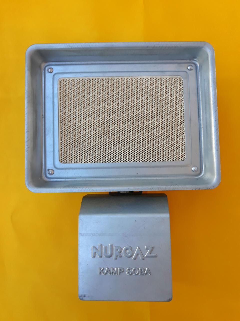 Газовый обогреватель на 1500 (Вт), инфракрасная горелка. Портативный обогреватель. (Насадка на баллон).