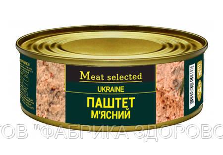 Паштет м'ясний Meat Selected 240 г від ВИРОБНИКА