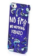 Чехол KENZO для iPhone 5/5S, NO FISH no nothing