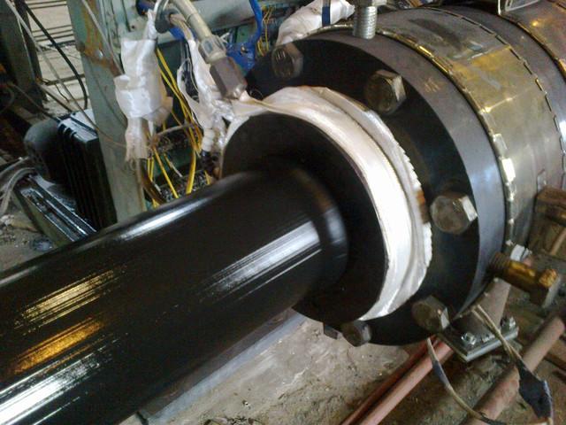 Труба дм.89х18мм. ізольована двошаровим покриттям на основі екструдованого поліетилену