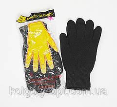 """Перчатки одинарные стрейчевые """"Желтая рука"""" (продаются только от 10 пар)"""
