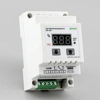 Регулятор влажности цифровой в корпусе на DIN-рейку (0-100%, реле 10А) РВ-10/D-HIH5030, фото 1