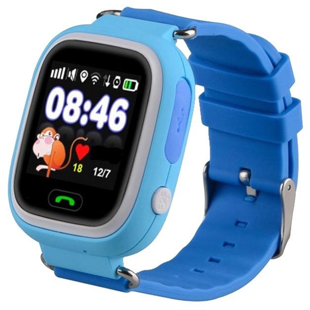 Часы Smart  Baby Watch Q80  Gsm/Gps, датчик снятия, удалённый трекинг,