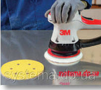 3М™255P Hookit™ - Шлифовальный круг, 150 мм, 6 отверстий, P280