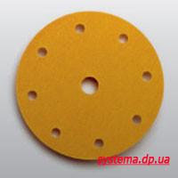 3М™255P Hookit™ - Шлифовальный круг, 150 мм, 9 отверстий, P180