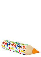 Карандаш-подушка зверята разноцветные , фото 1