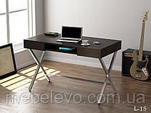 стол письменный L-15 750х1200х600мм Loft Design, фото 2
