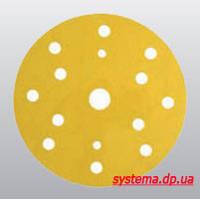 3М™ 50443 255P+ Hookit™ - Шлифовальный круг, 150 мм, 15 отверстий, P80