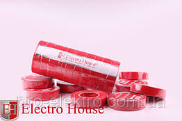 EH-AHT-1817 Красная изолента 17м. 0,15мм х 18мм