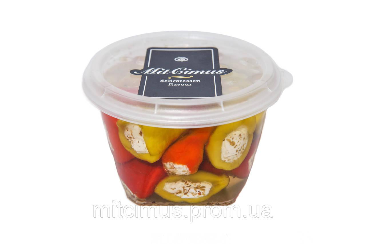 Перец Кабанаки ассорти фаршированный сыром «Фета» 0,43 л
