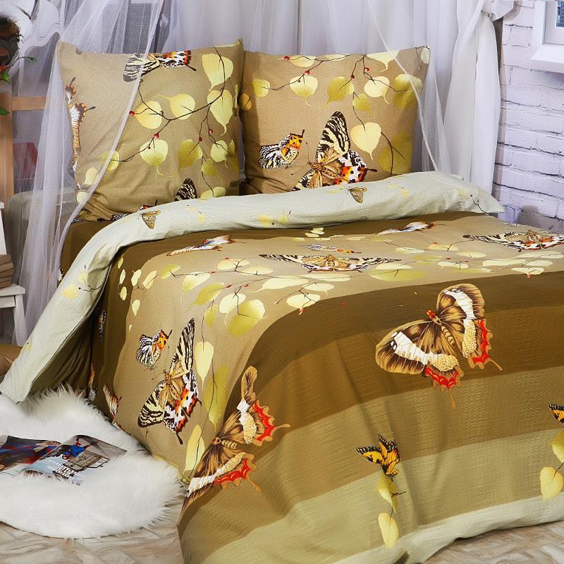 Двоспальний комплект постільної білизни Gold Lux