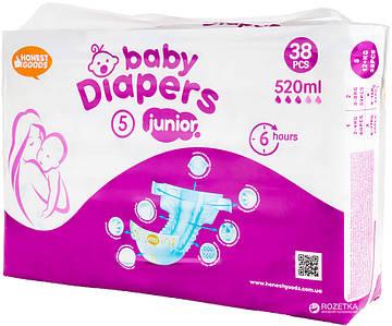 Honest Goods 5 детские подгузники XL 35*52 (38 шт.) (1051)