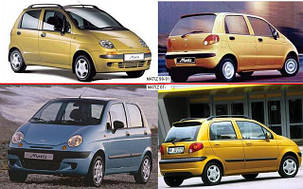 Зеркала для Daewoo Matiz 1998-01