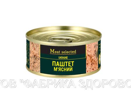Паштет м'ясний Meat Selected 100 г від ВИРОБНИКА