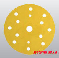 3М™ 50450 255P+ Hookit™ - Шлифовальный круг, 150 мм, 15 отверстий, P280