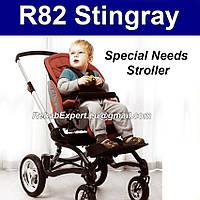 R82 Stingray Прогулочное Кресло-коляска для Особого Ребенка Для Реабилитации Детей с ДЦП