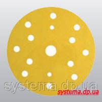 3М™ 50444 255P+ Hookit™ - Шлифовальный круг, 150 мм, 15 отверстий, P100, фото 2