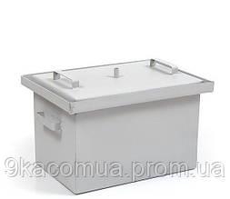 Коптильня с гидрозатвором 550*300*280мм окрашенная HousePro