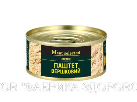 Паштет вершковий Meat Selected 100 г від ВИРОБНИКА